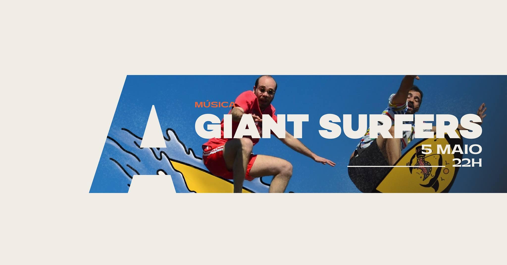 Giant Surfers @Avenida Café-Concerto