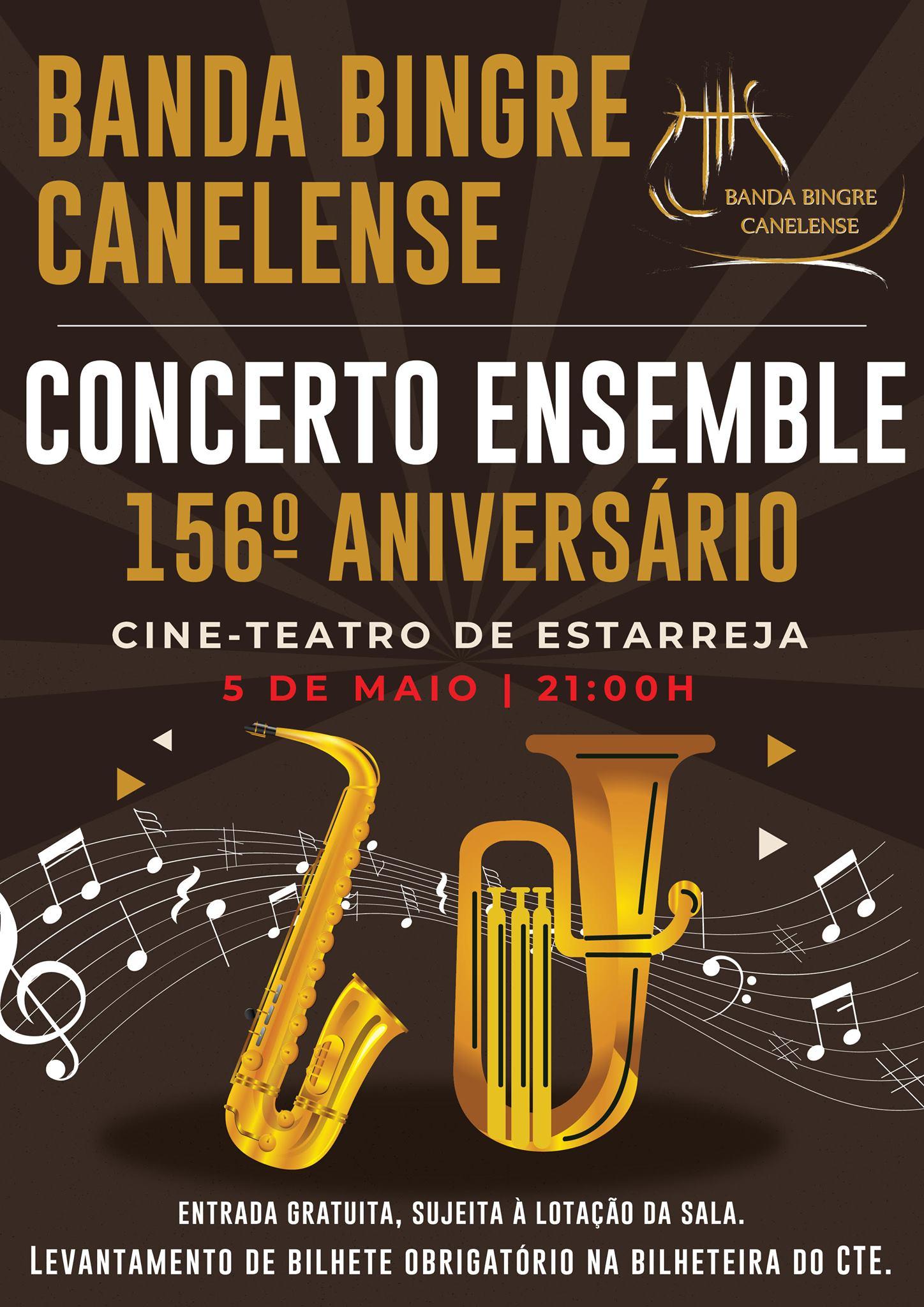 BANDA BINGRE CANELENSE | 156.º ANIVERSÁRIO
