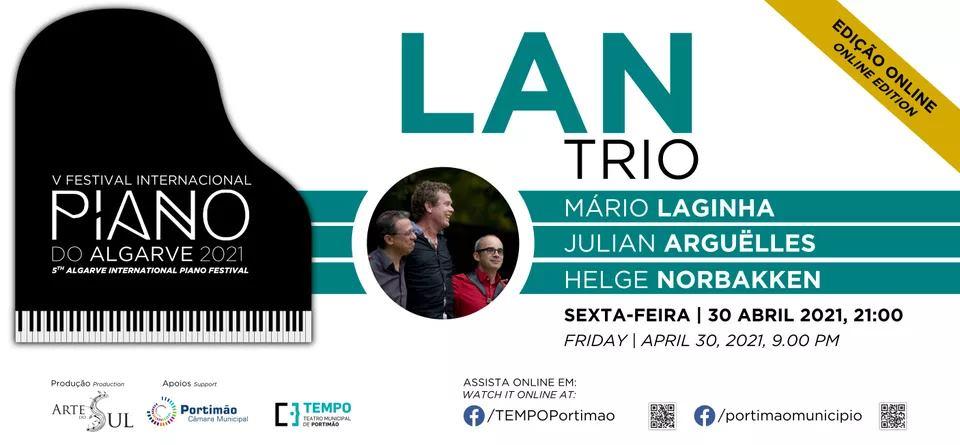 LAN TRIO: Mário Laginha, Julian Argüelles e Helge Norbakken
