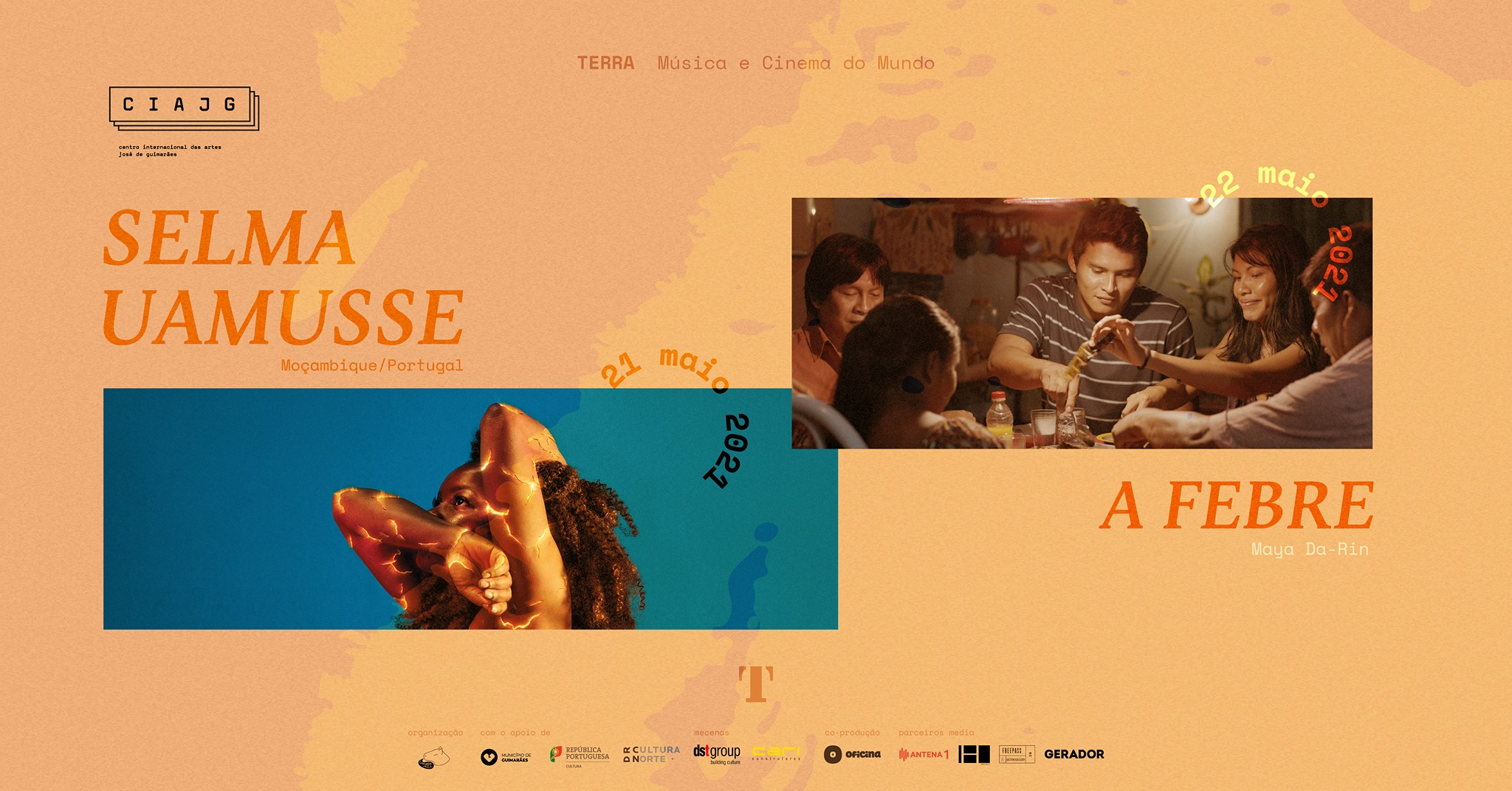 Selma Uamusse (MZ/PT) + 'A Febre'  – Terra #7