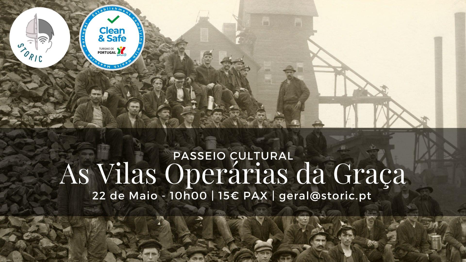 As Vilas Operárias da Graça - Passeio Cultural