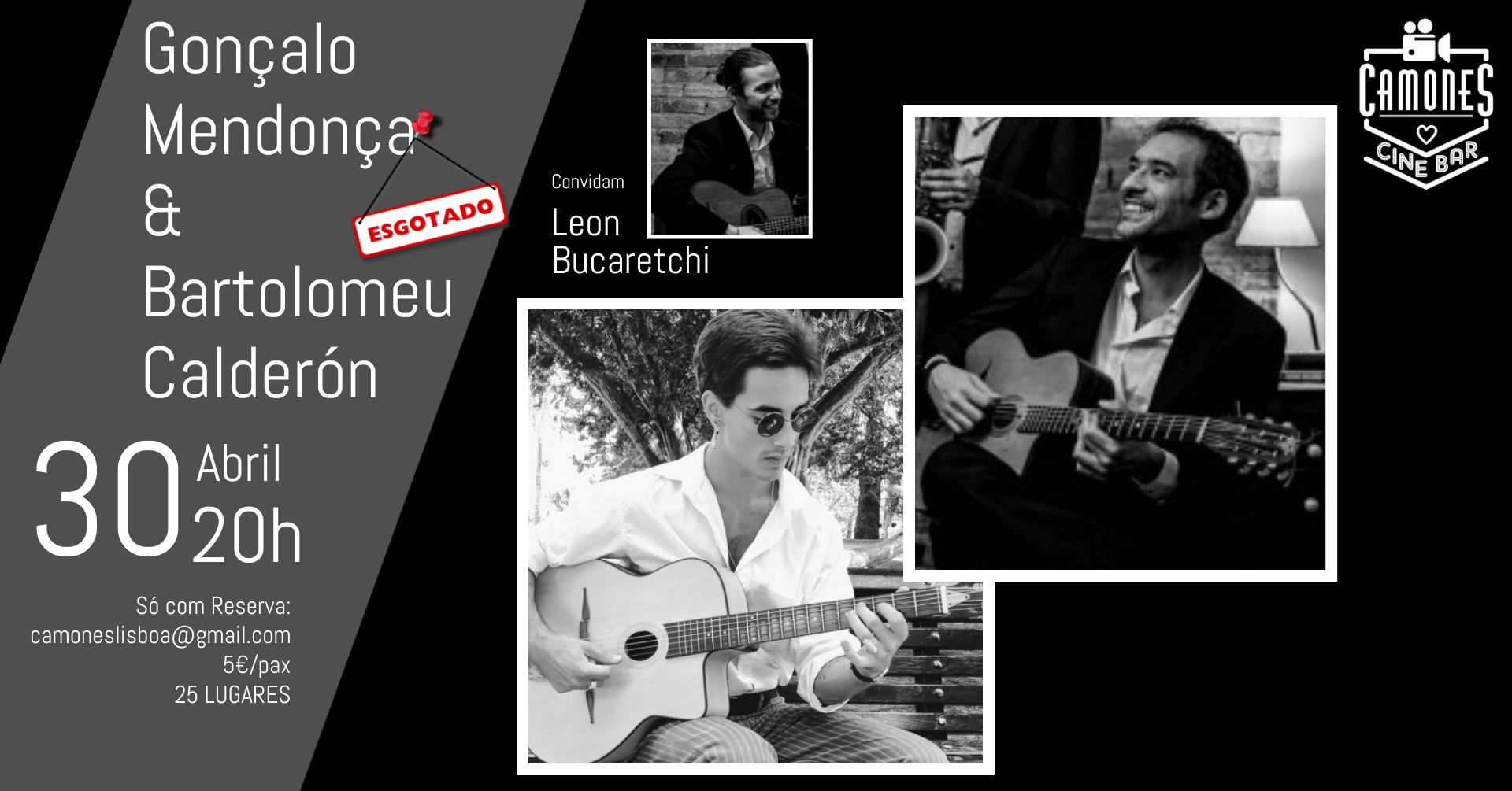 Jazz Manouche com Gonçalo Mendonça e Bartolomeu Calderón
