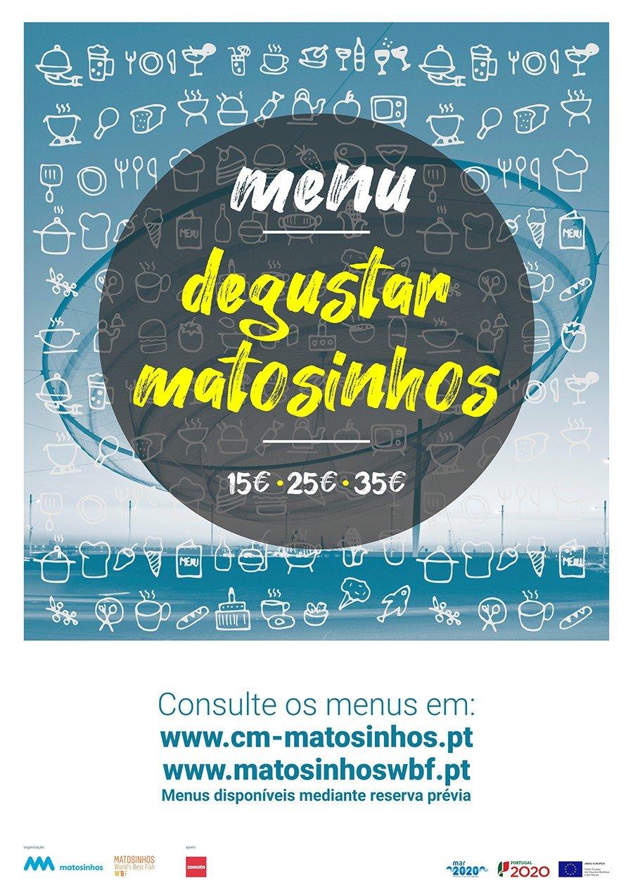 Menu - Degustar Matosinhos