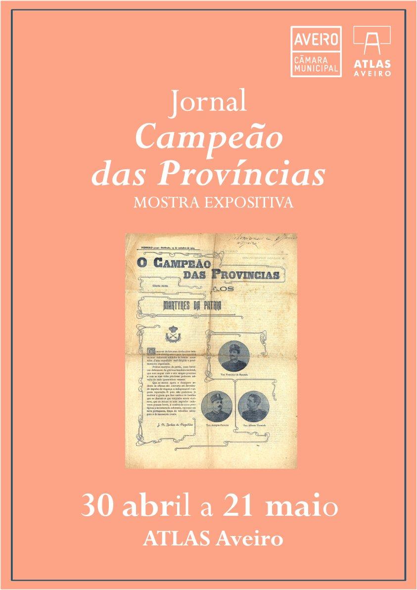 """Exposição """"Jornal Campeão das Províncias"""""""