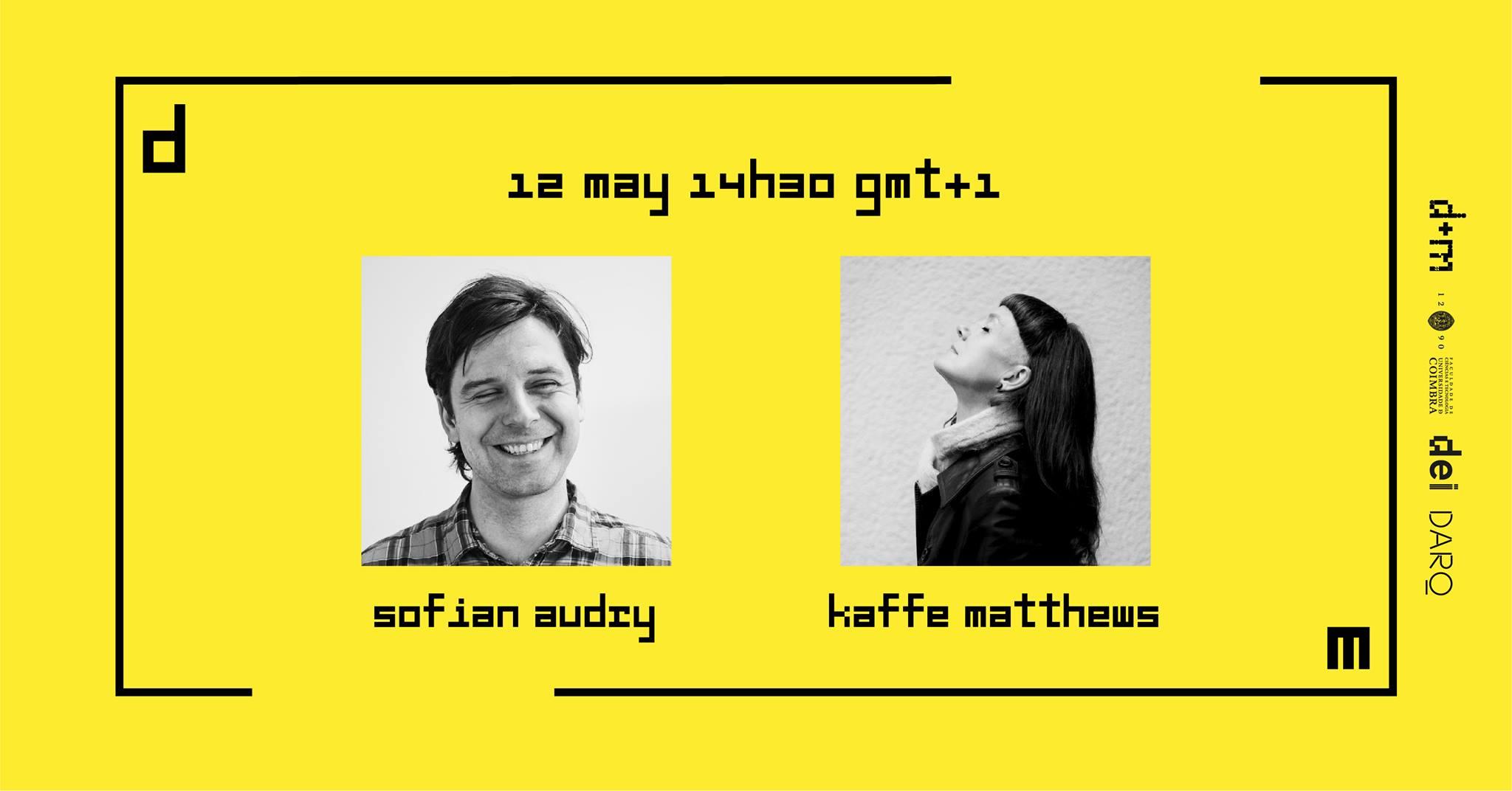 Ciclo de Conversas Design+Multimédia 2021: Sofian Audry + Kaffe Matthews