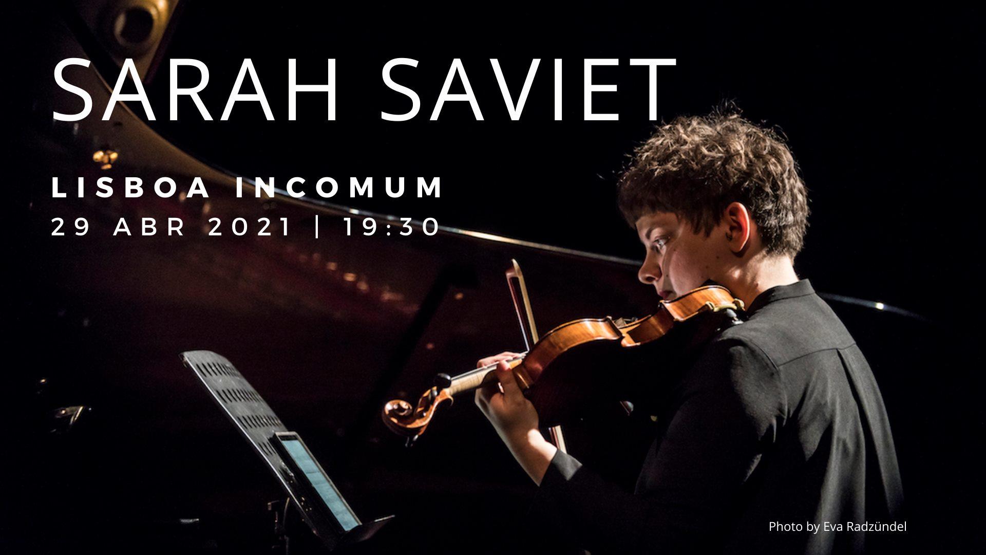 Sarah Saviet - Recital