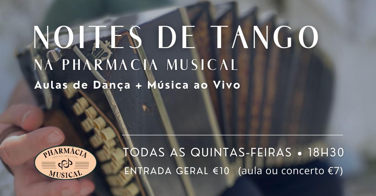Noite de Tango: dança e música ao vivo