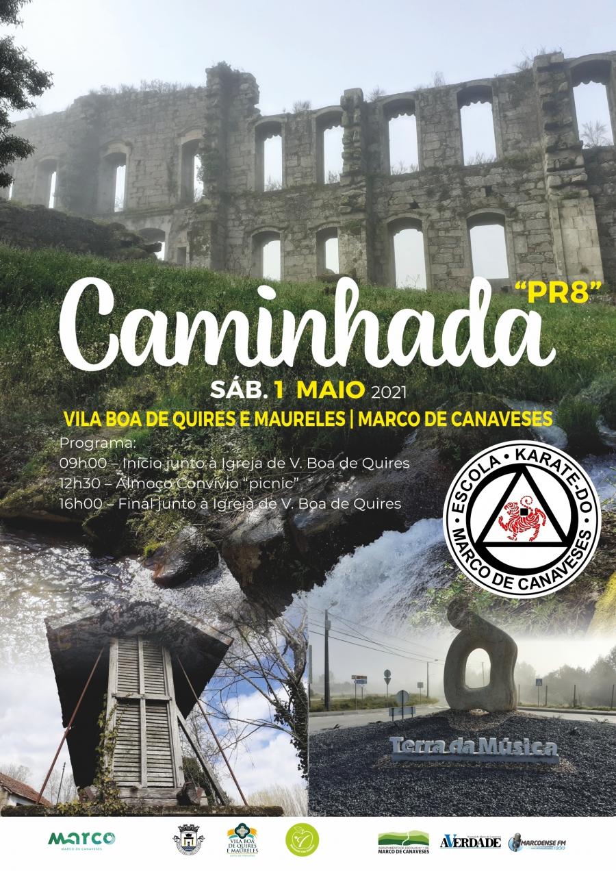 Caminhada pelo PR8 em Vila Boa de Quires e Maureles