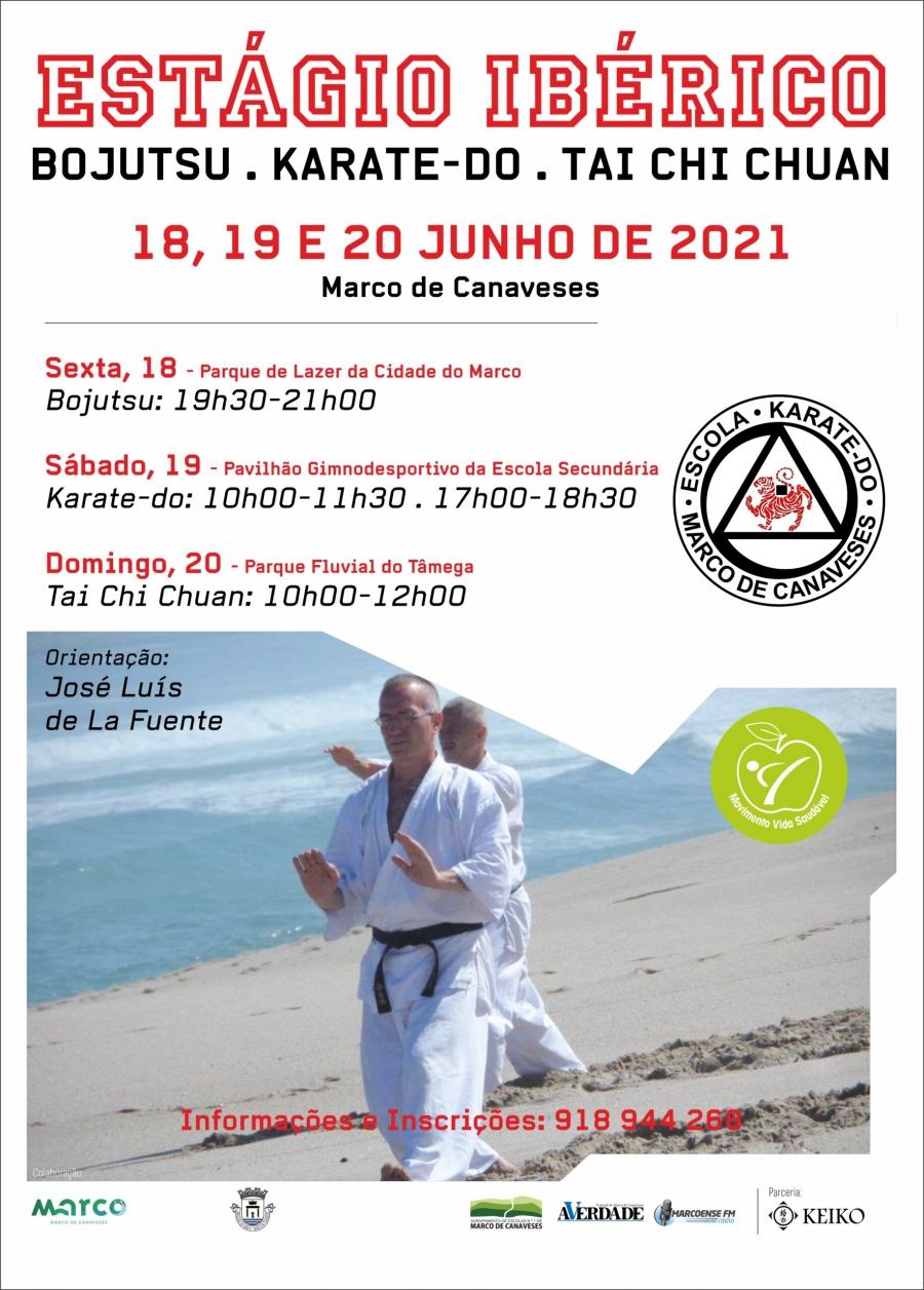 Estágio Ibérico de Bojutsu, Karate-do e Tai Chi Chuan