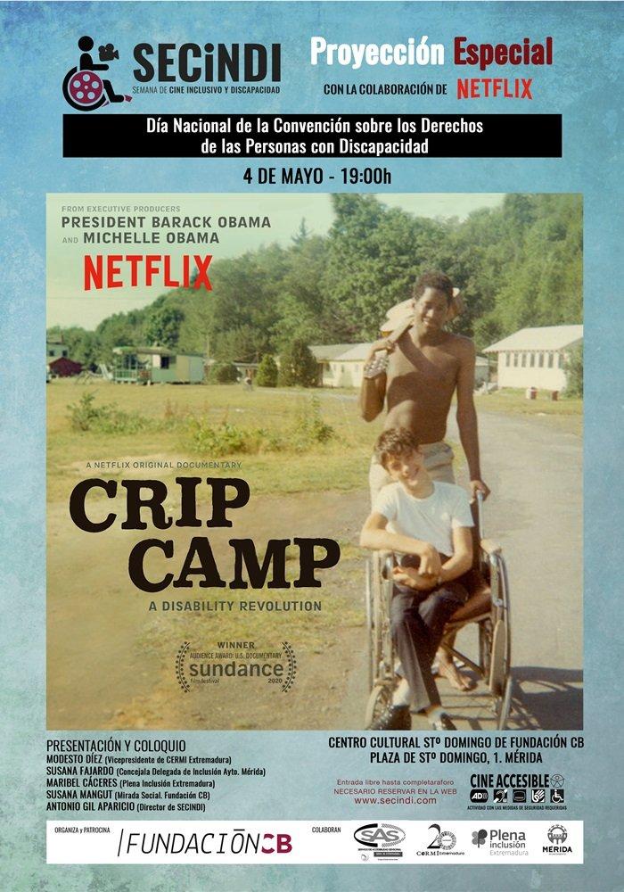 Proyección de 'Crip Camp. Campamento extraordinario' (SECINDI)