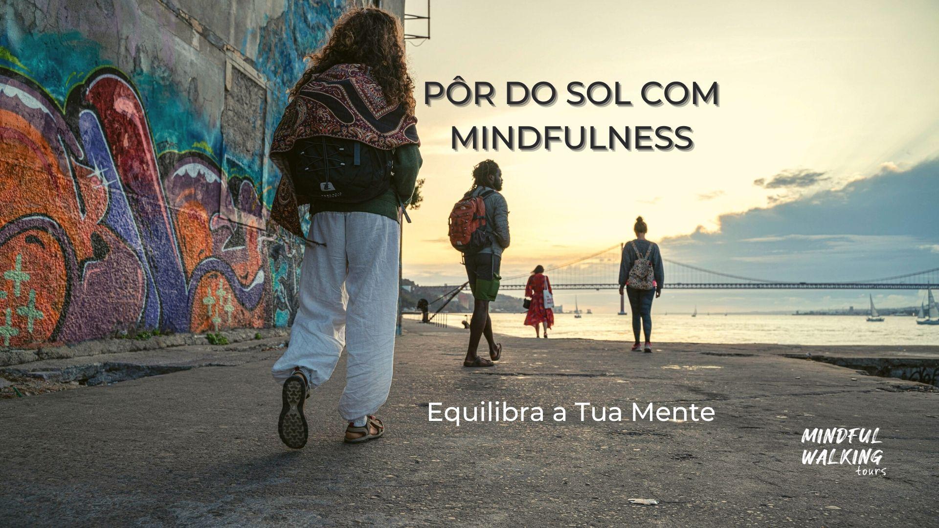 PÔR DO SOL COM MINDFULNESS