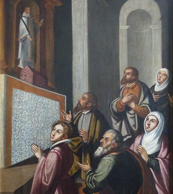 A Infanta D. Maria em Oração à Imagem e às Relíquias de S. Vicente
