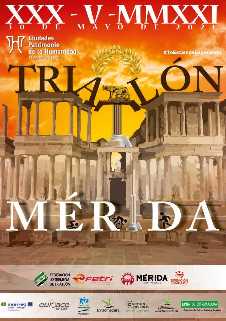 XI Triatlón Mérida Ciudad Patrimonio
