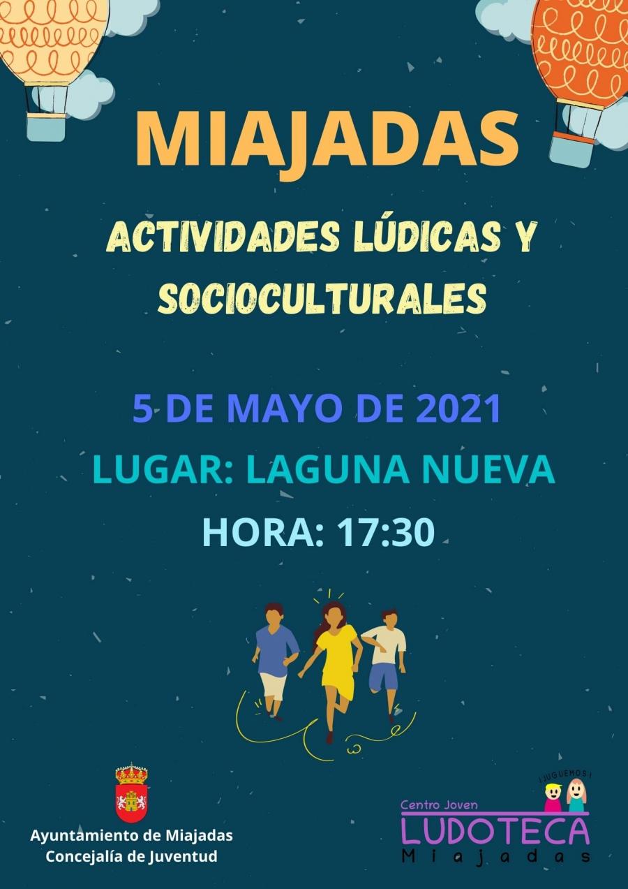 Actividades Lúdicas y Socioculturales. Ludoteca de Miajadas.