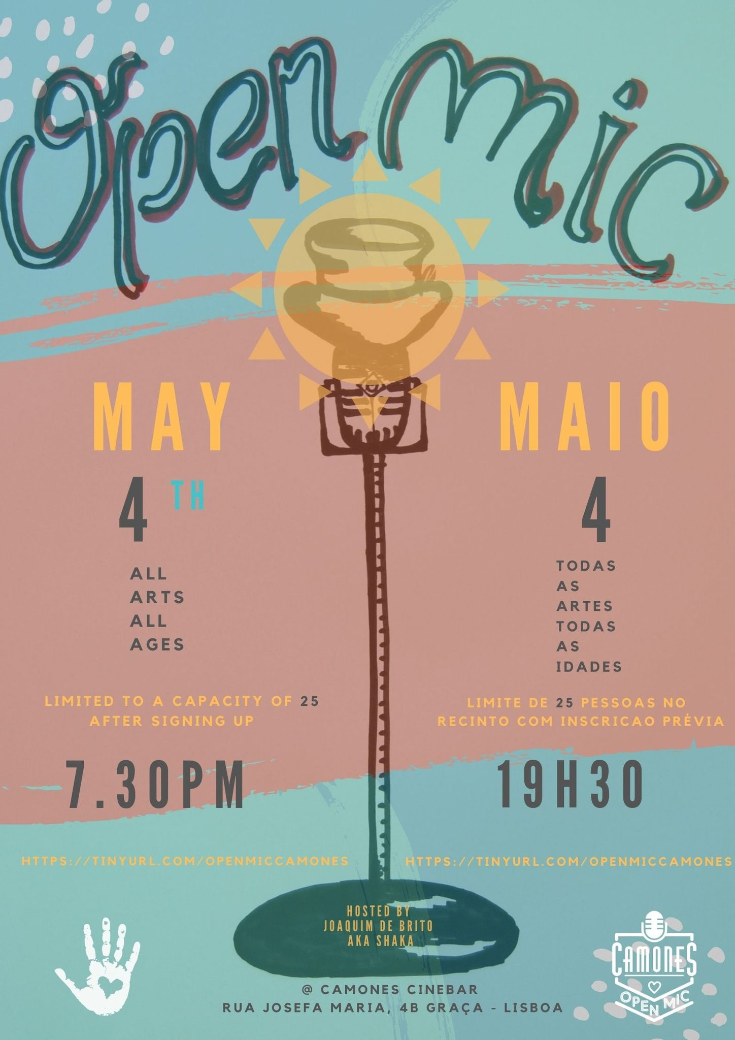 Open Mic - 65ª edição - All Arts, All Ages