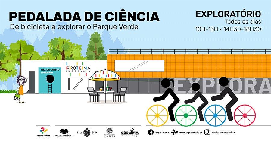 Pedalada de Ciência - De bicicleta a explorar o Parque Verde