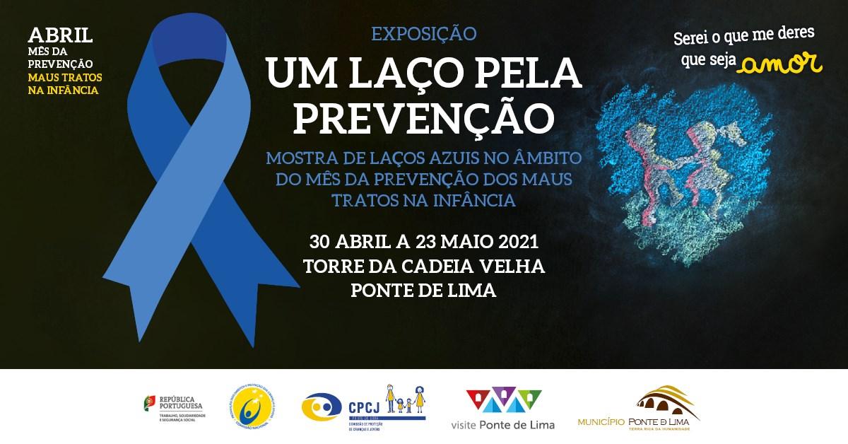 Exposição 'Um laço pela prevenção'