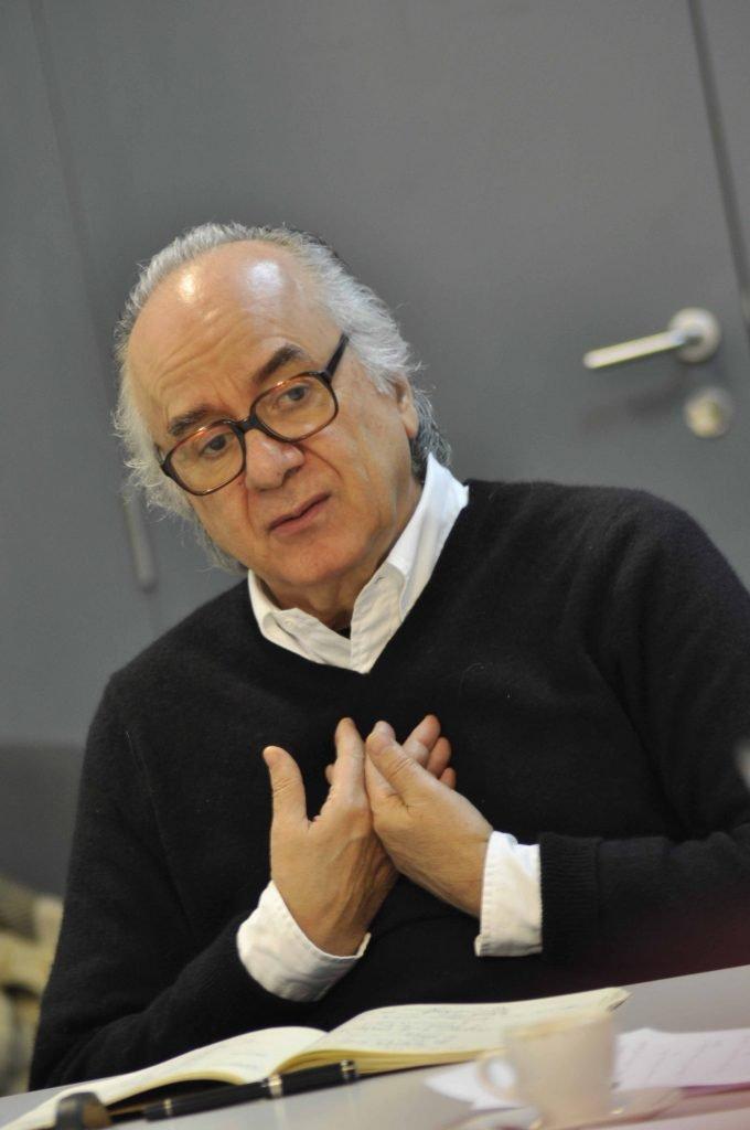"""Aula Aberta de """"Poética e Escrita Criativa"""" com Boaventura de Sousa Santos"""