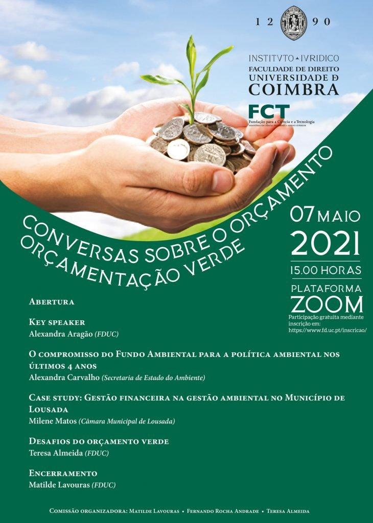 Conversas sobre o orçamento: orçamentação verde