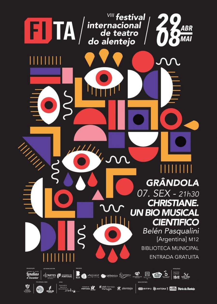 Teatro: 'Christiane: Um bio-musical Científico' com Belén Pasquali