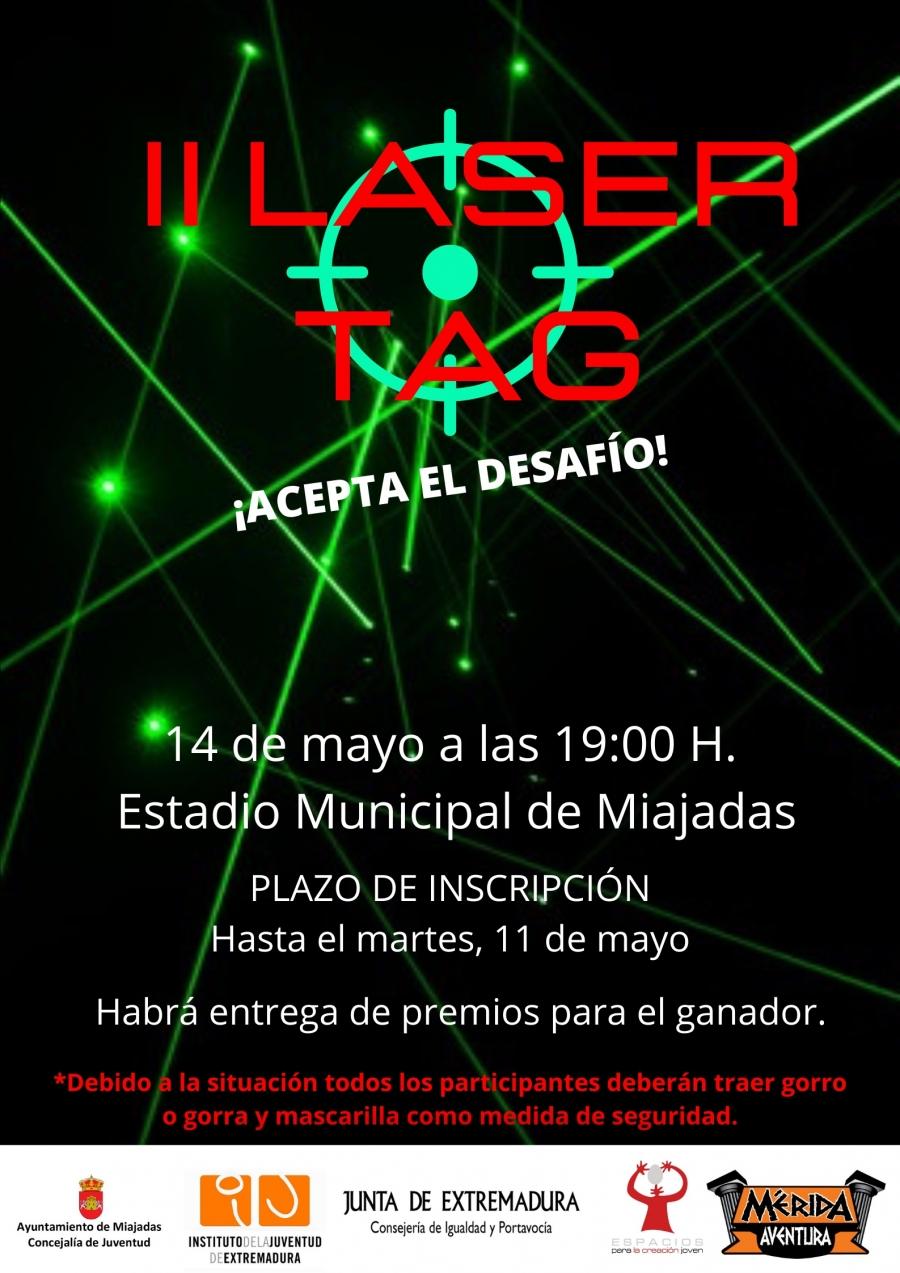 II Edición de Laser Tag