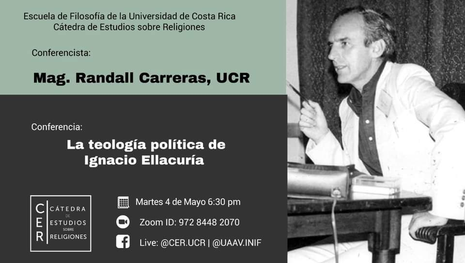 Conferencia: La teología política de Ignacio Ellacuría