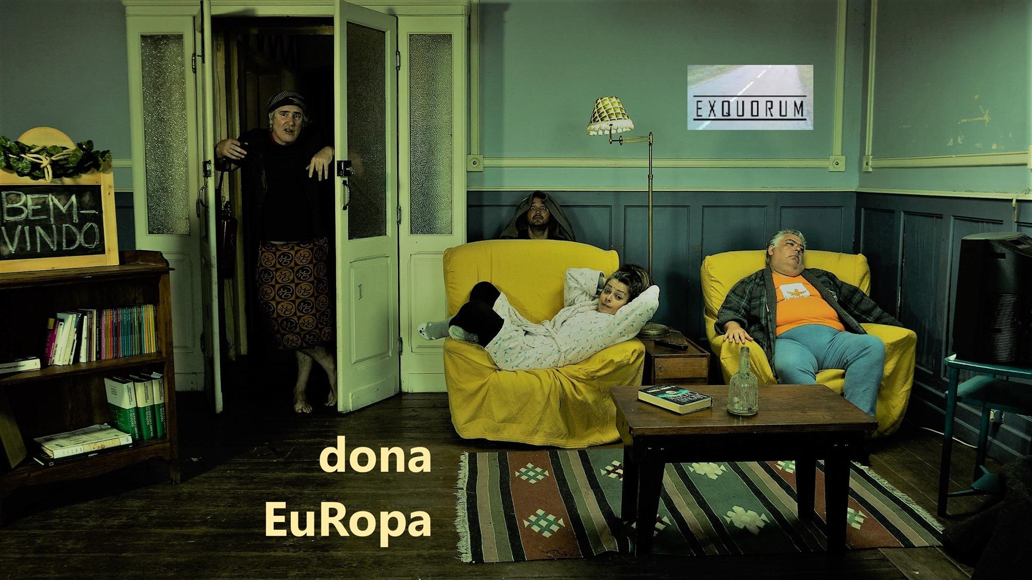 espetáculo 'dona EUROPA'