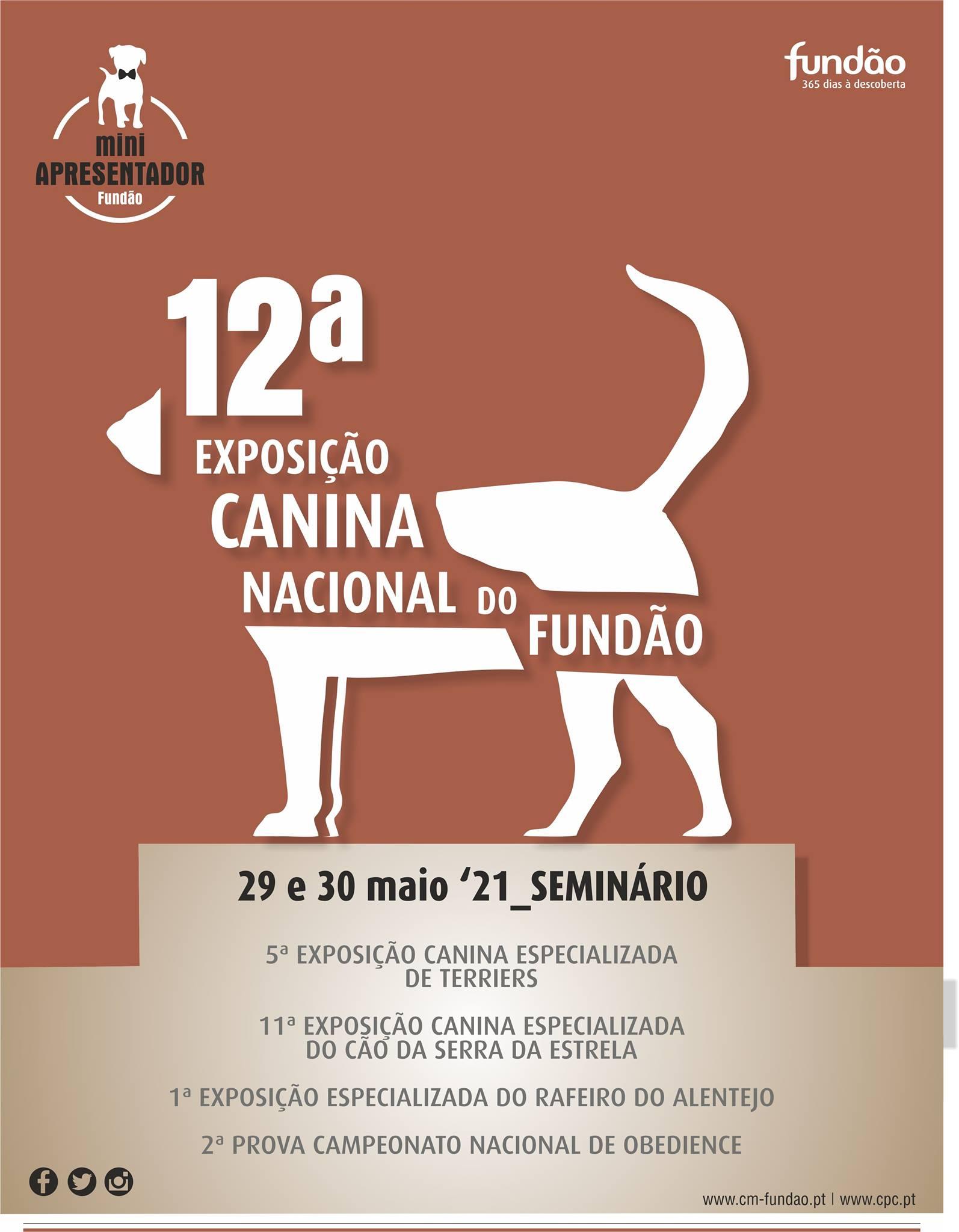 12ª Exposição Canina Nacional do Fundão