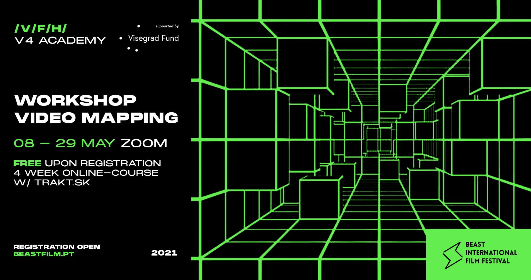VIDEO MAPPING WORKSHOP | V4 ACADEMY