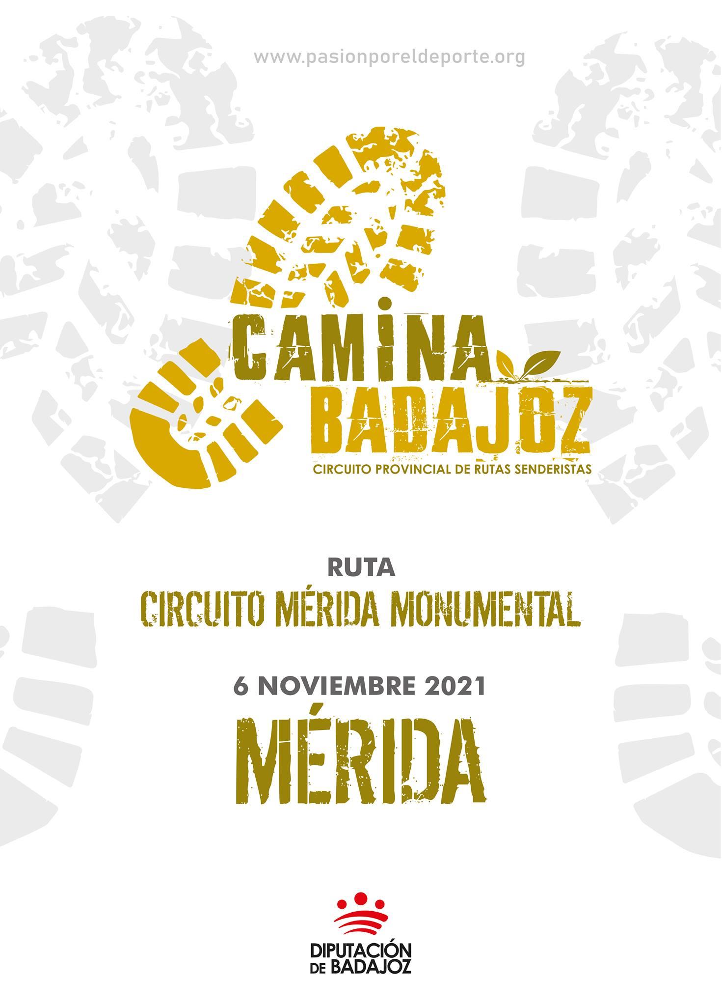 CAMINA BADAJOZ | Ruta Circuito Mérida Monumental (Mérida)