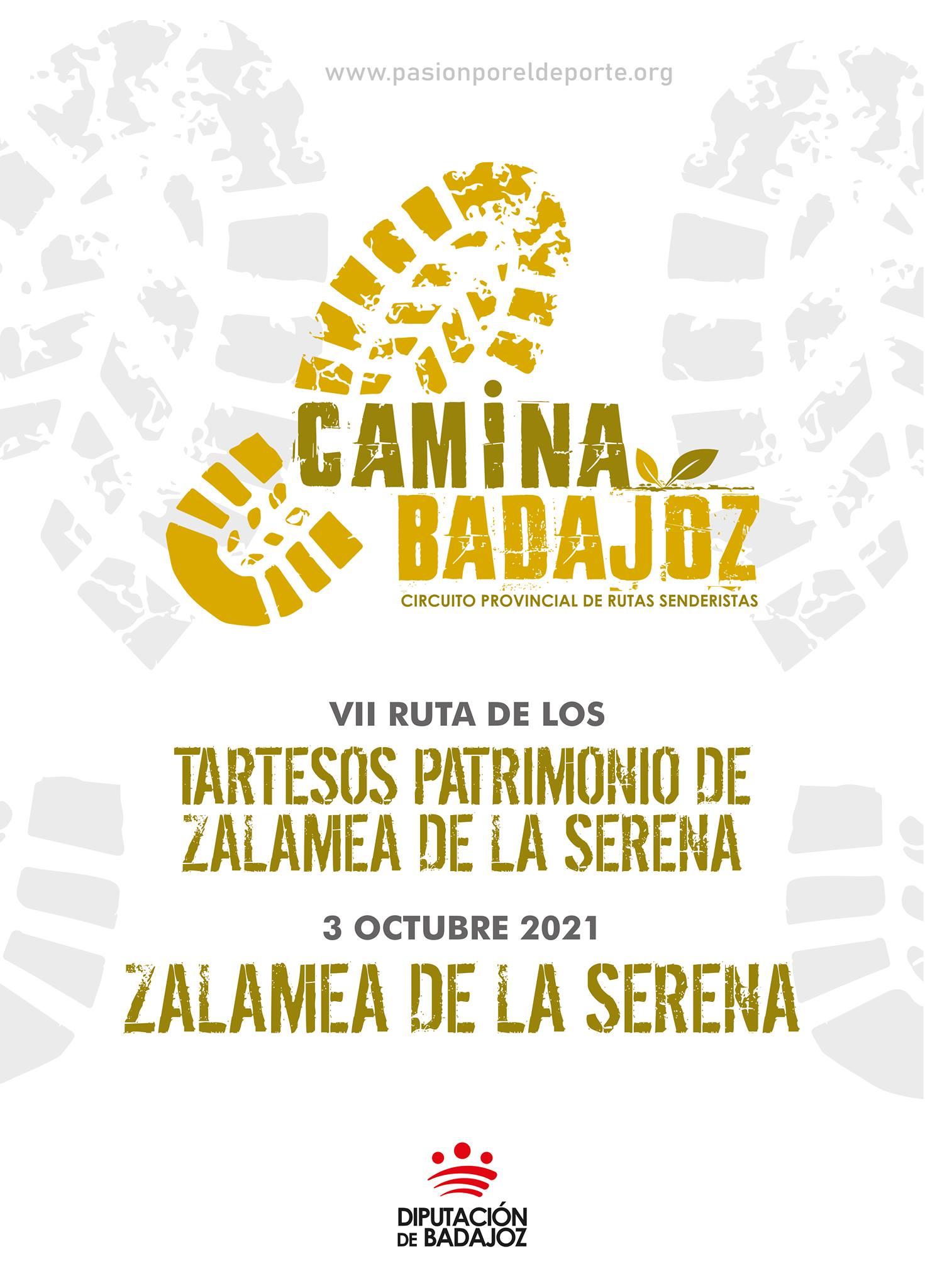 CAMINA BADAJOZ | VII Ruta de los tartesos (Zalamea de la Serena)