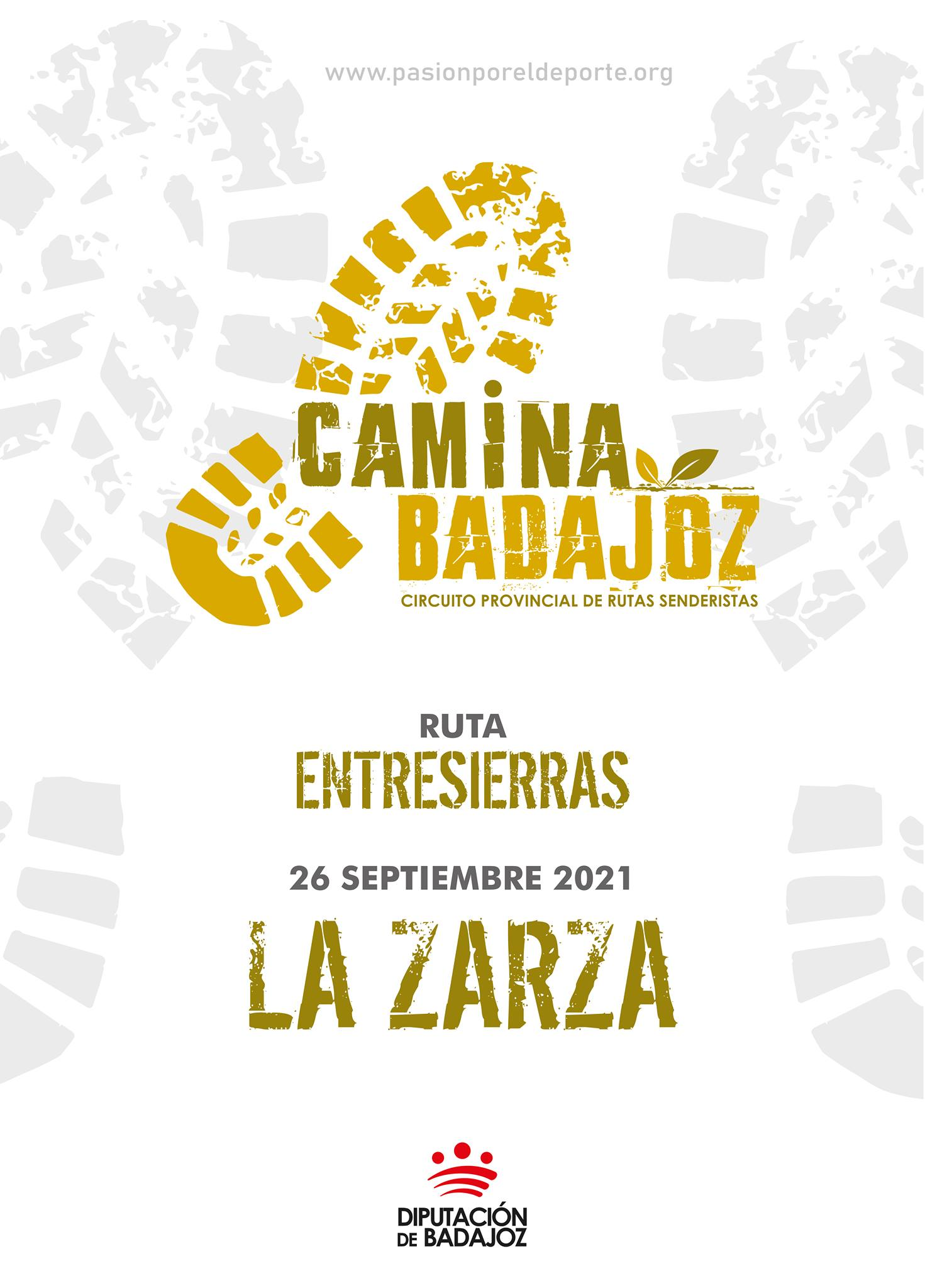CAMINA BADAJOZ | Ruta entresierras (La Zarza)