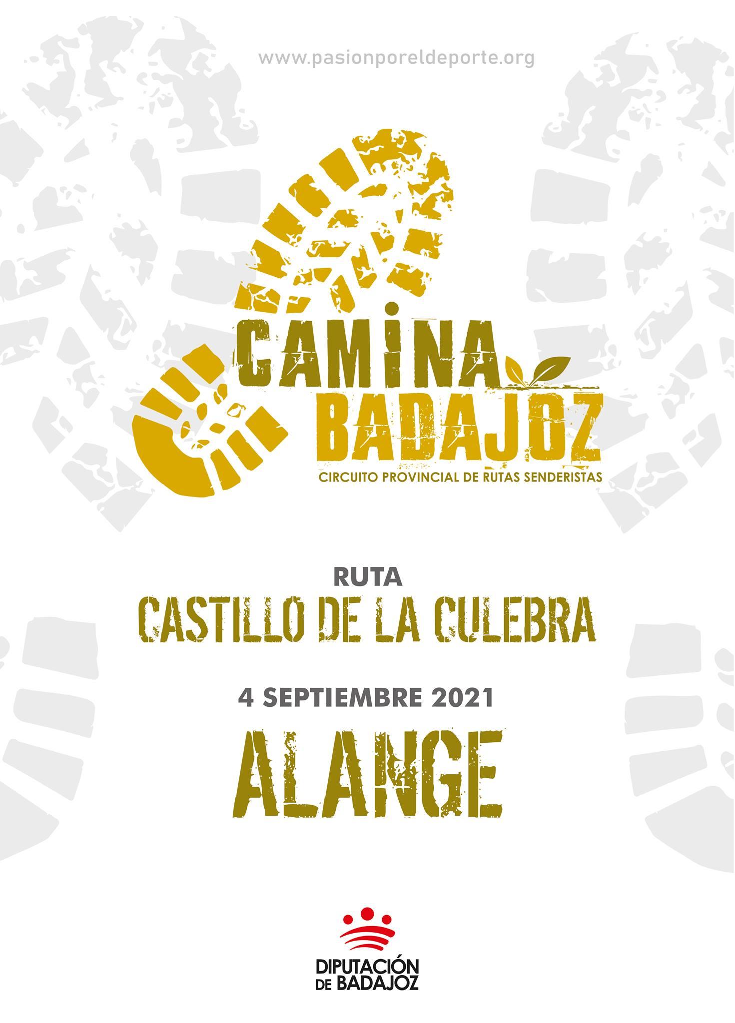 CAMINA BADAJOZ   Ruta Castillo de la Culebra (Alange)