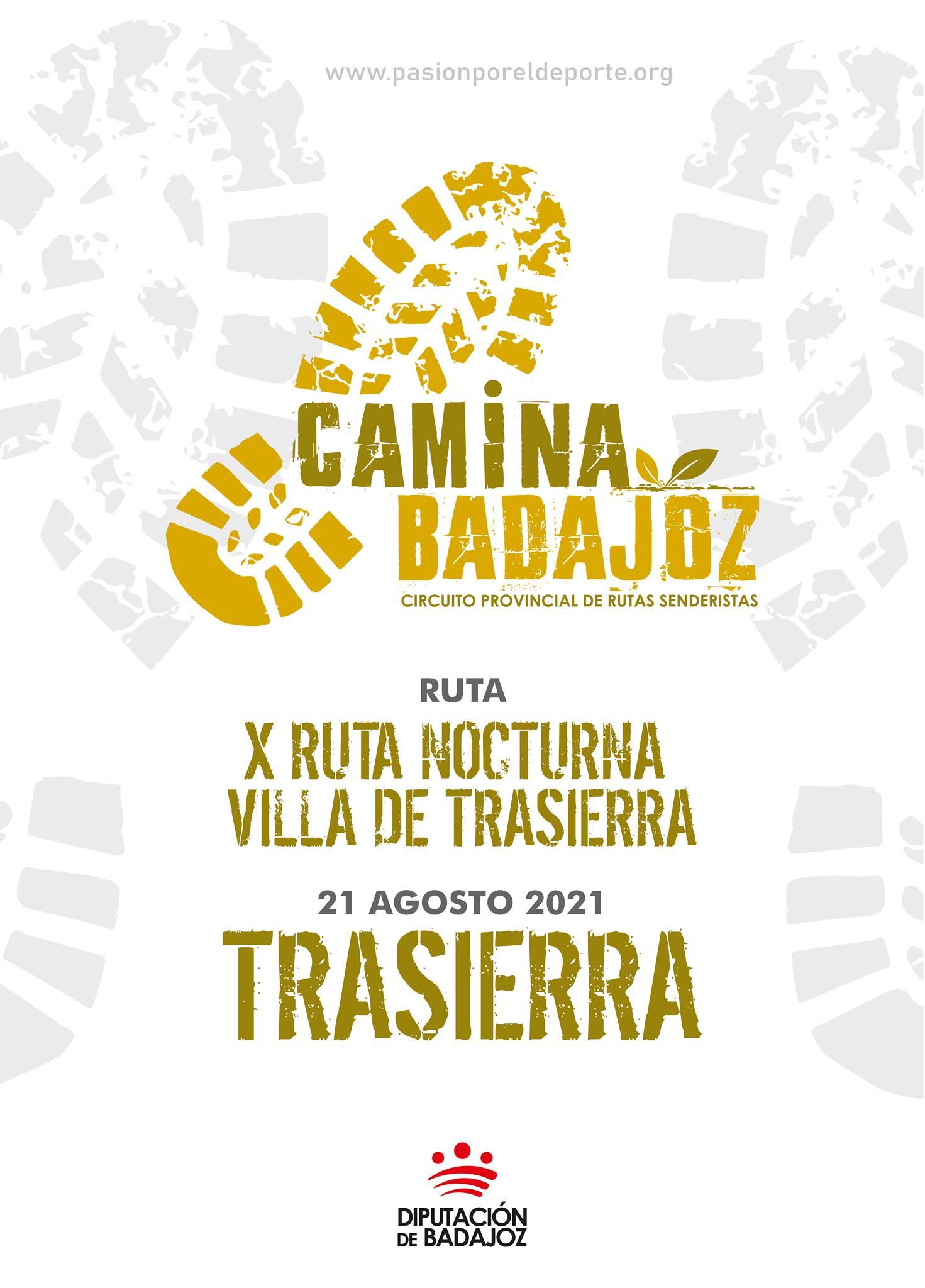 CAMINA BADAJOZ | X Ruta nocturna Villa de Trasierra (Trasierra)