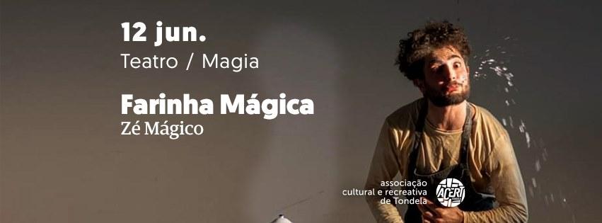 Farinha Mágica | Magia e teatro p/ famílias