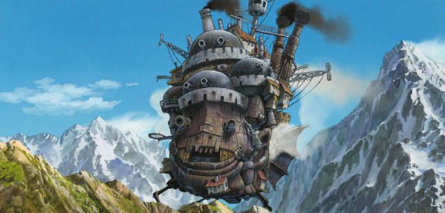 O Castelo Andante de Hayao Miyazaki