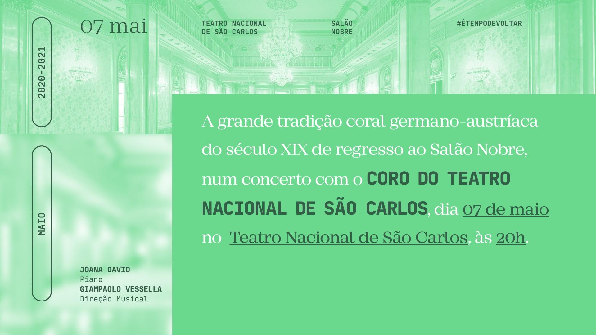 Concerto com o Coro do Teatro Nacional de São Carlos