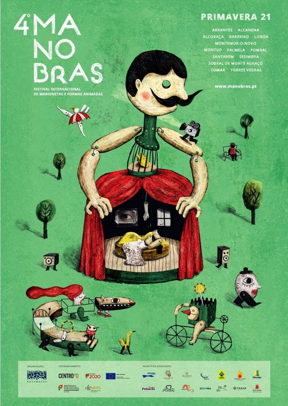 4.º Manobras - Festival Internacional de Marionetas e Formas Animadas (Edição Primavera)