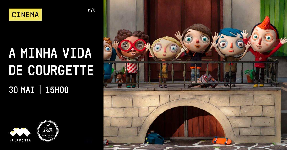 Cinema   'A Minha Vida de Courgette'