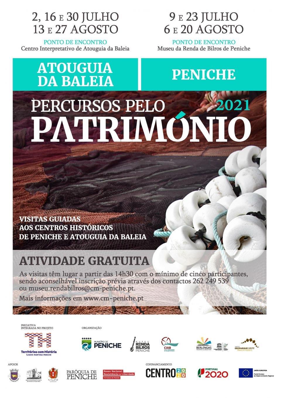 Percursos pelo Património: visitas guiadas aos centros históricos de Peniche…
