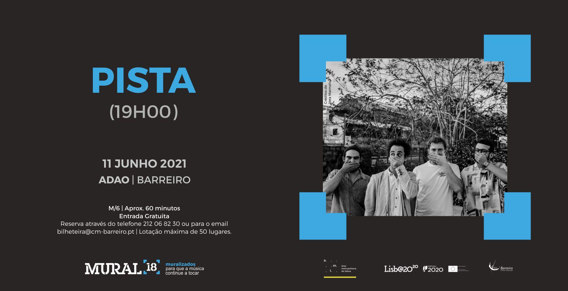 PISTA + Conan Castro and the Moonshine Piñatas | Concerto Programação em Rede MURAL 18