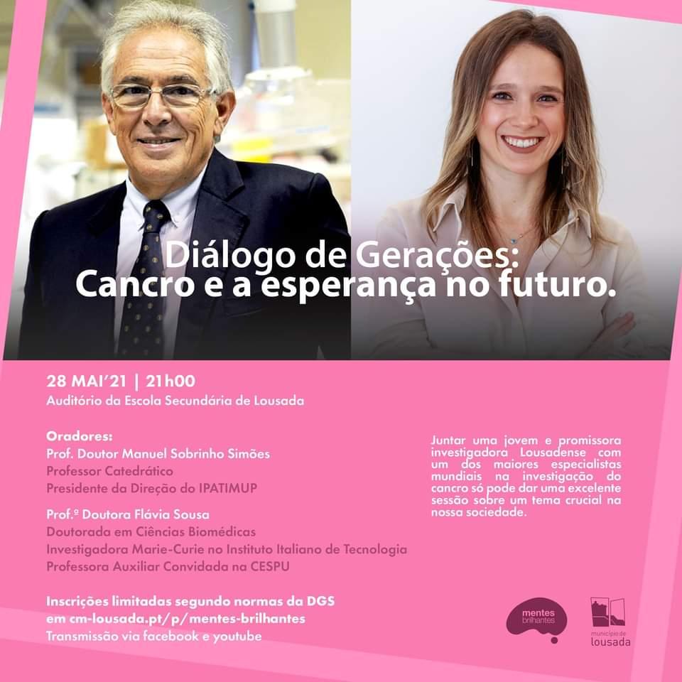 Diálogo de Gerações: Cancro e a esperança no futuro