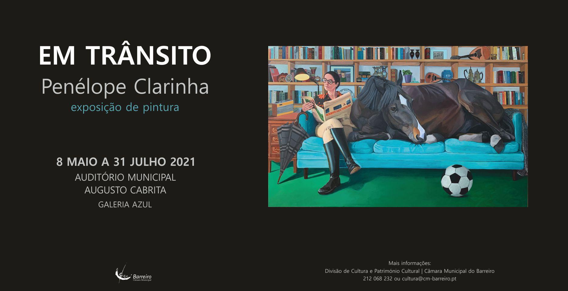 Em Trânsito, Exposição de pintura de Penélope Clarinha   Inauguração
