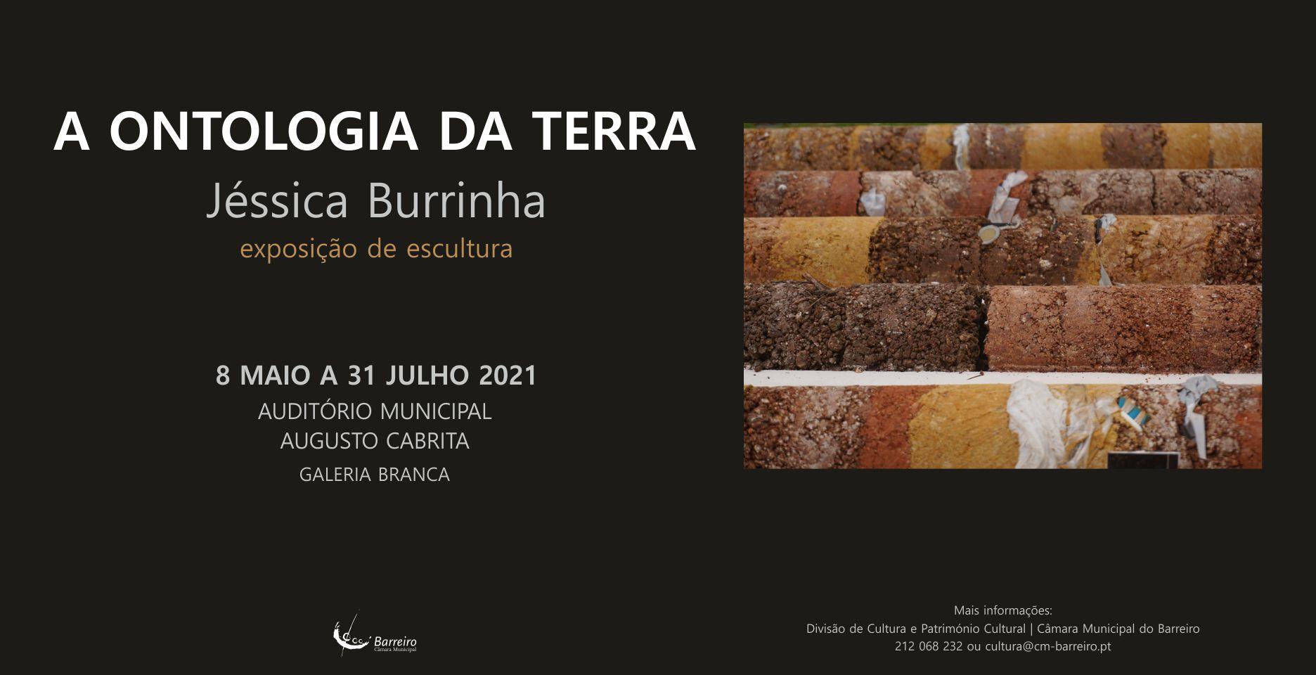 Ontologia da Terra, Exposição de escultura de Jéssica Burrinha | Inauguração