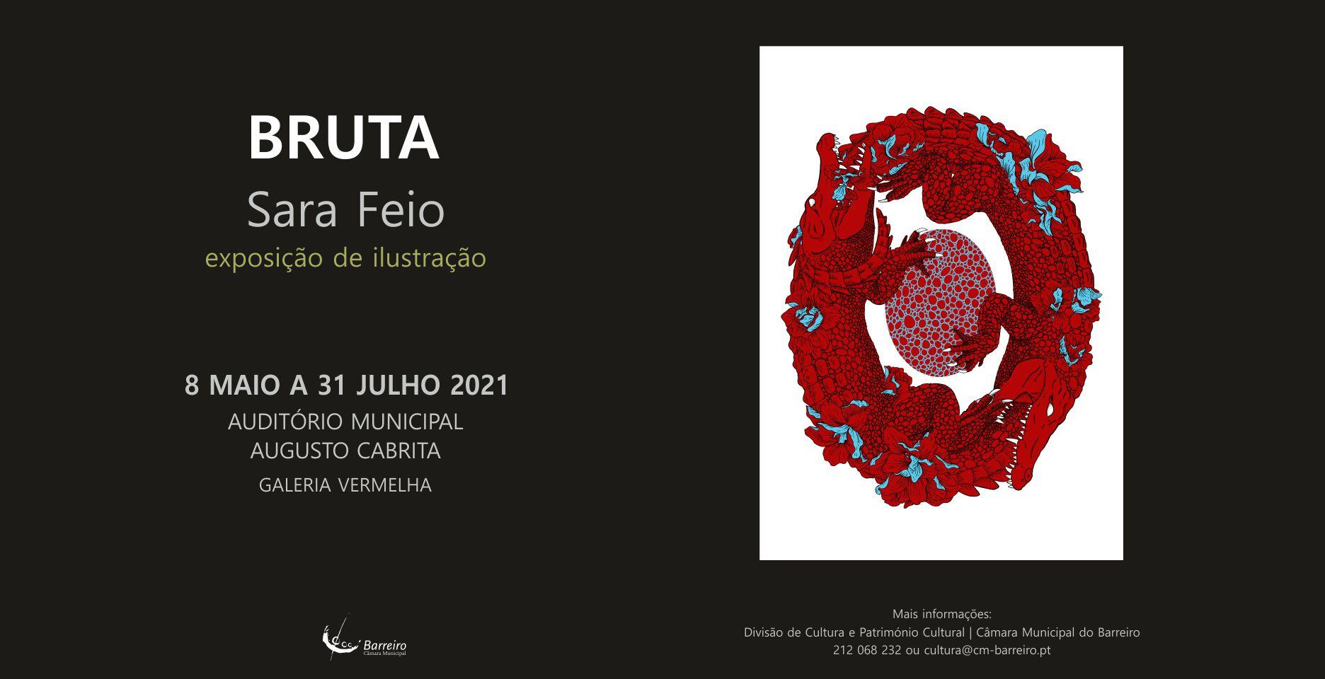 BRUTA, Exposição de ilustração de Sara Feio | Inauguração