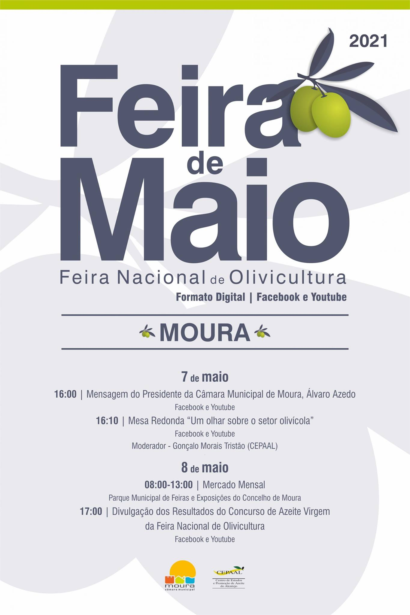 """FEIRA DE MAIO   Mesa Redonda """"Um olhar sobre o setor olivícola"""""""