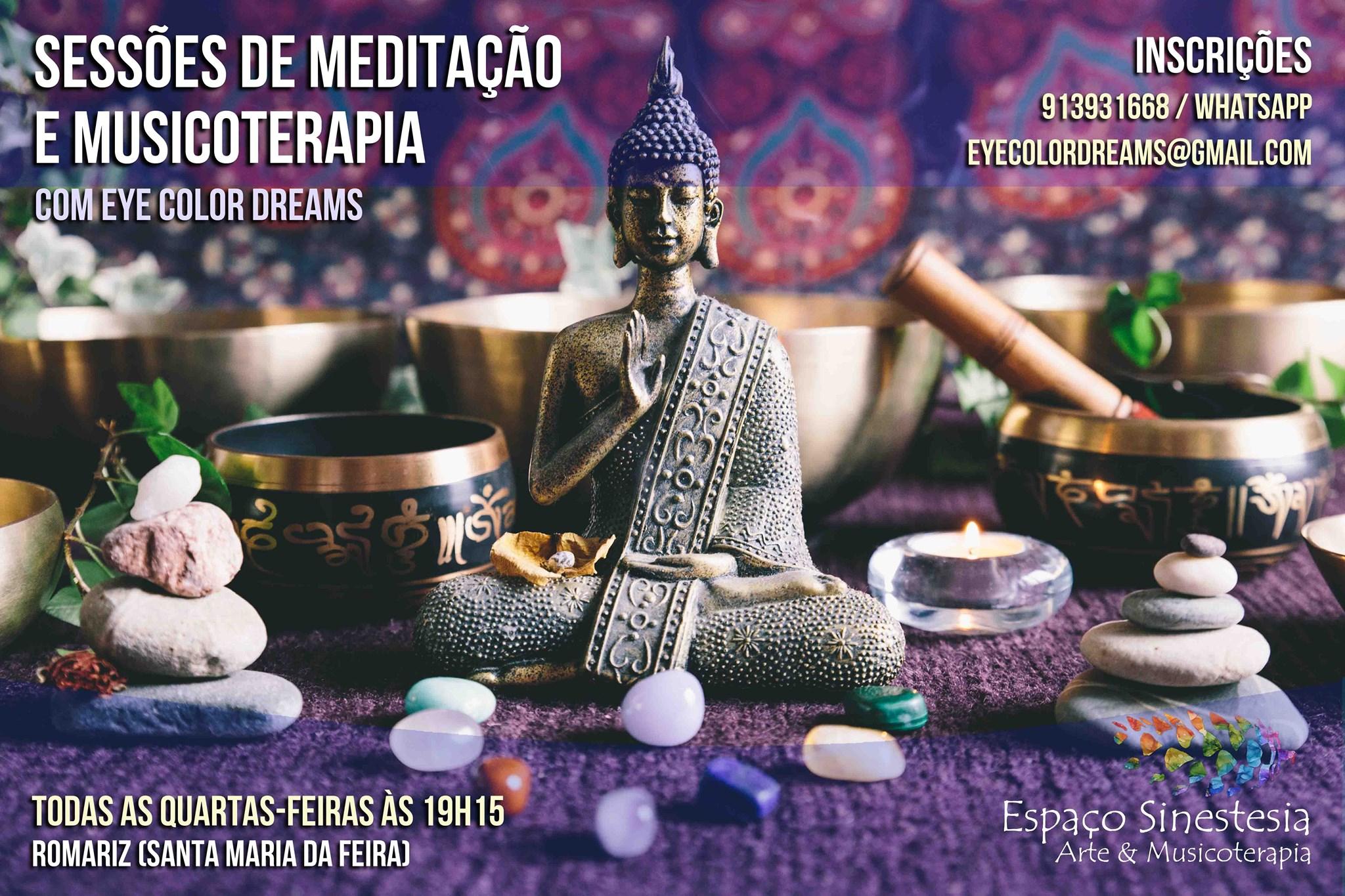 Sessões de Meditação e Musicoterapia (Presenciais)