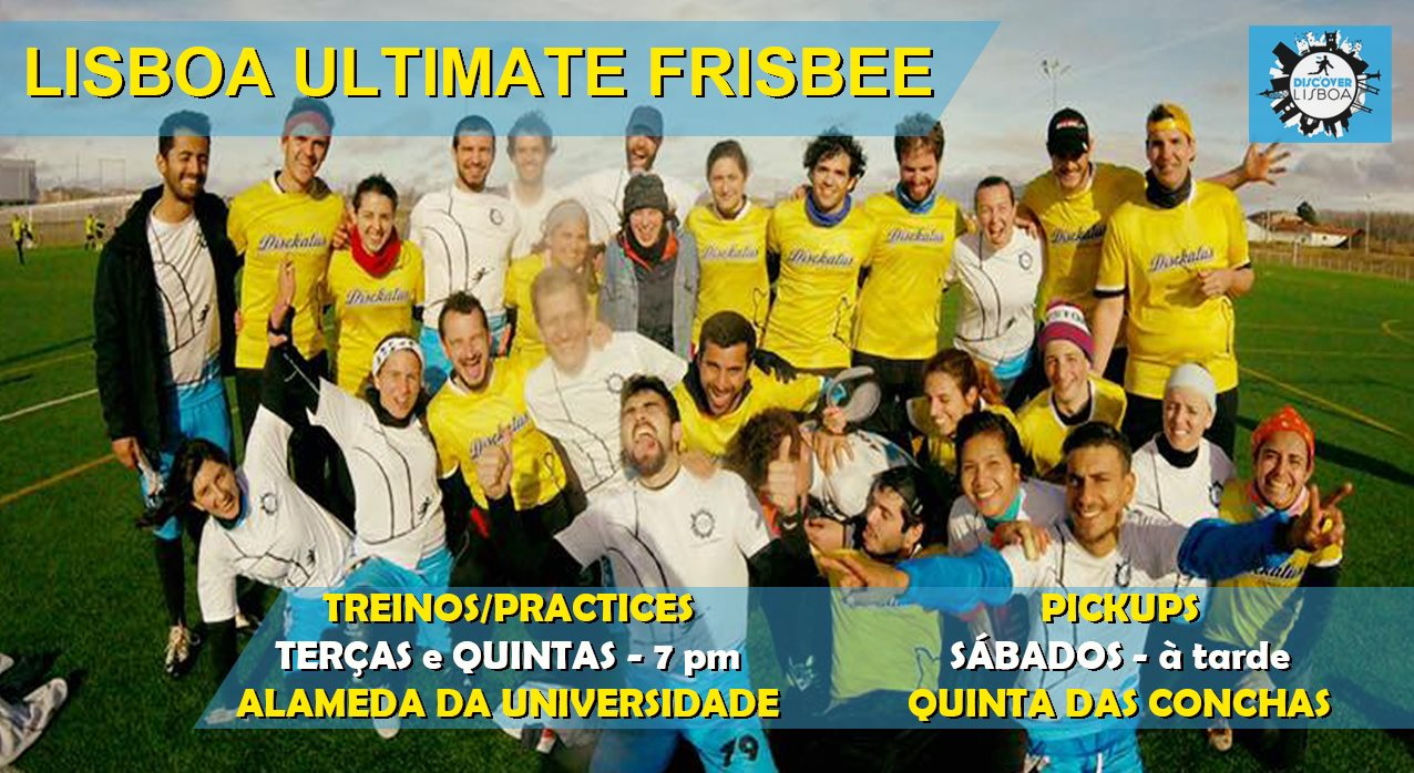 Lisbon Ultimate Frisbee Training - 9 (2021)
