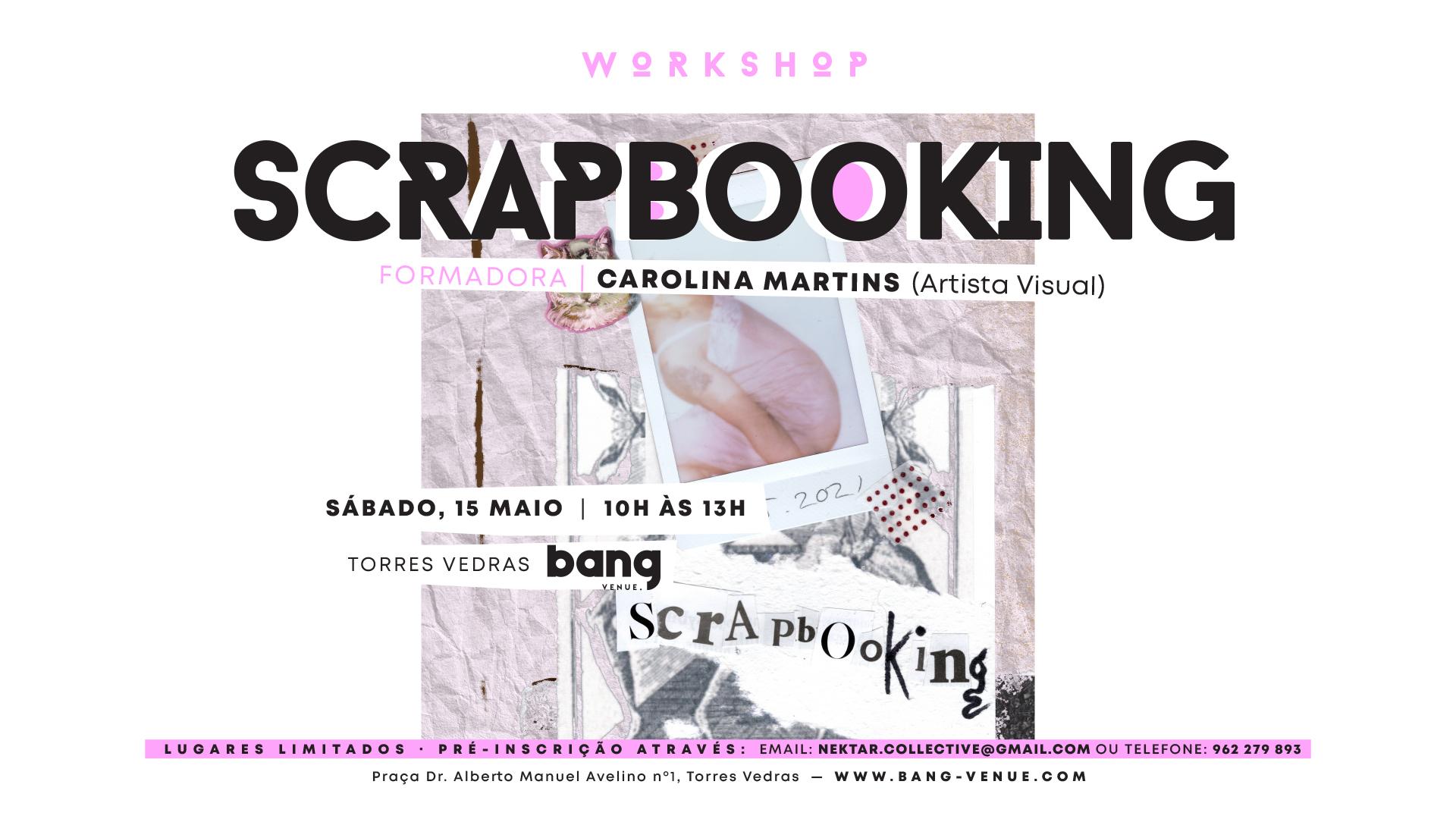 Workshop Scrapbooking | 15 de Maio