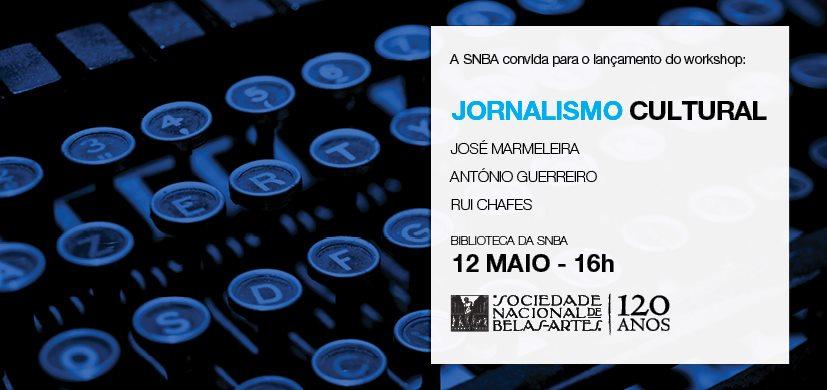 Lançamento do Workshop Jornalismo Cultural